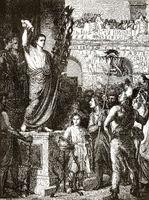 Roman Emperor Claudius or Tiberius Claudius Caesar Augustus Germanicus, declared Lyon the capital of Gaul