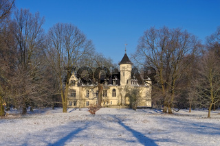 Hohenbocka Schloss Winter - Hohenbocka castle in winter