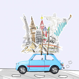 Travel by car
