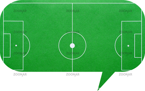 Dialog Bubble Soccer Talk