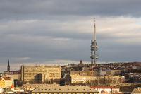 Zizkov Television Tower in Prague