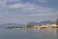 Promenade and port in Bardolino