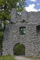castle ruin Werdenfels