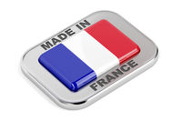 Made in France, silver badge