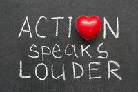 action speaks