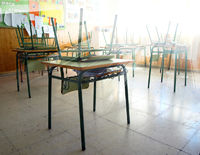 empty classroom of an elemetery school