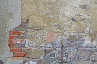 alte Mauer old weathered wall
