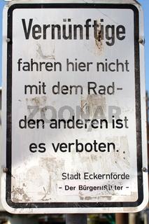 Schilder an der Schlei. 001