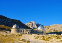 Gran Sasso Campo Imperatore Sternwarte - Gran Sasso Campo Imperatore observatory in Italy