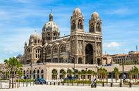 Cathedral de la Major in Marseille, France