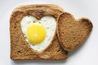 toast and egg