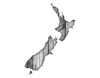 Karte von Neuseeland  - Map of New Zealand