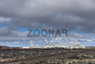 Geothermal Plant Iceland