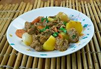 Simple African Beef Stew