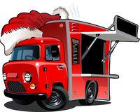 Cartoon food truck