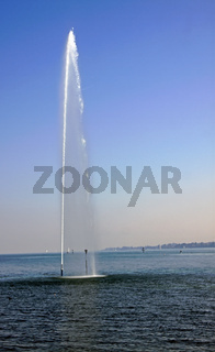 Wasserfontäne Konstanz