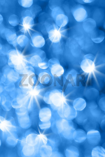 Blue holiday background