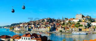 Panorama of Porto, Portugal