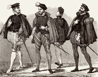 costumes for men in the 16th century