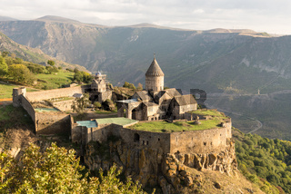 Ancient christian Tatev monastery in Armenia