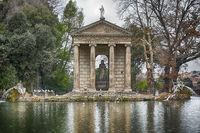 The Aesculap-Temple in Rome