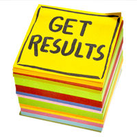 Get results reminder note