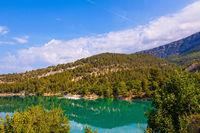 Europe's alpine canyon Verdon