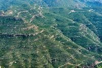 Beautiful rocky mountain valley