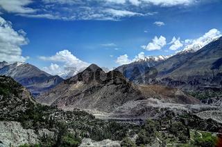 Karakoram mountain, Pakistan