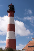 Lighthouse Westerheversand in Westerhever, Germany