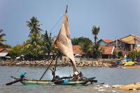 Sailboat - Negombo, Sri Lanka