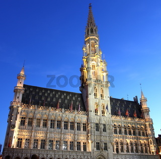 City hall in Brussel