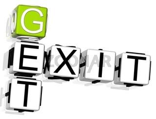 Get Exit Crossword