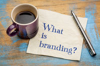What is branding? Napkin concept.