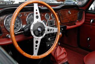 Oldtimercockpit