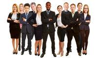 Viele Business Berater als Team