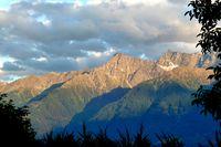 Bergblick in Südtirol