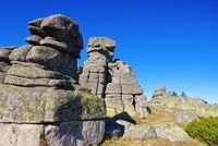 Mädelsteine im Riesengebirge - Maiden Rocks in Giant  Mountains in Bohemia