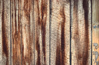 Abstract dark rustic wooden texture pattern, brown weathered background. Grungy design pattern material piece made of timber