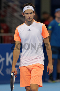 Tennis player Dominic Thiem