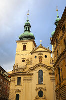 Church of St. Havel in Prague, Czech Republic