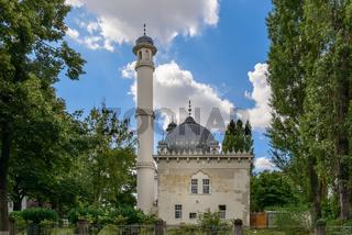 Ostseite der Wilmersdorfer Moschee in Berlin