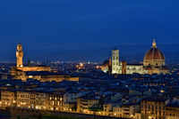 View of Florence with cathedral and Palazzo Vecchio