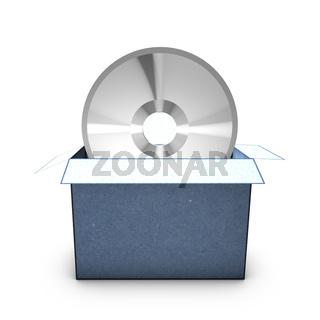 Downloadicon von vorne