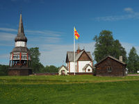 Älvros church in Härjedalen