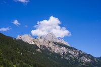 Rote Flüh, 2108m, Tannheimer Berge, Allgäuer Alpen, Tirol, Österreich, Europa