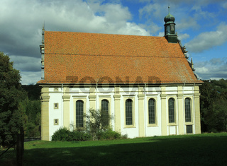 Weggentalkirche bei Rottenburg am Neckar, Wallfahrtskirche zur s