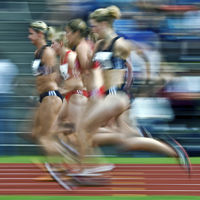 Track and Field: 100m women - Typical