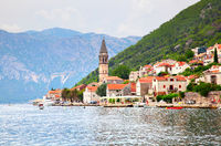 Picturesque Perast town