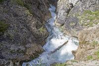 gorge Giessenbach near Scharnitz